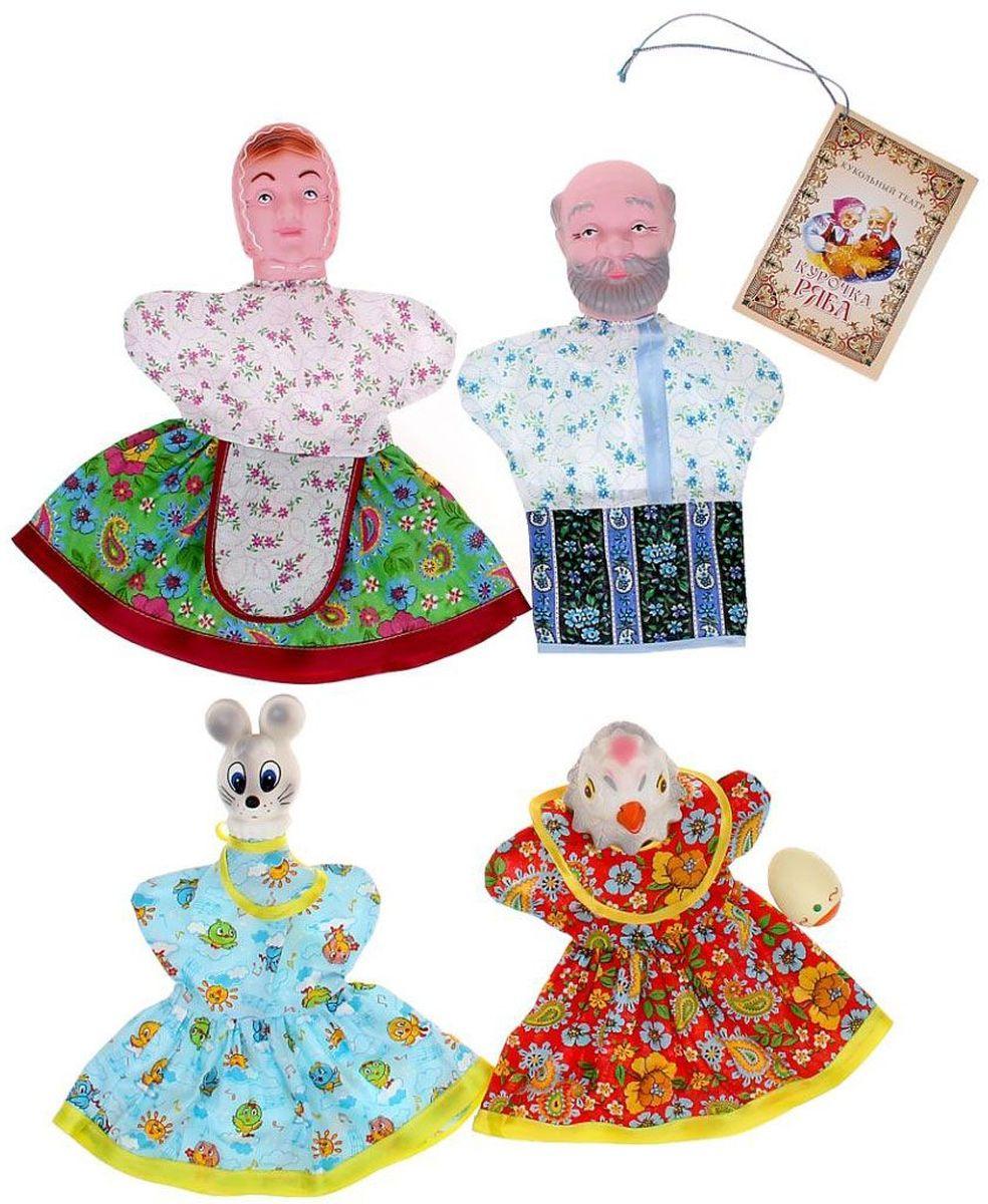 Sima-land Набор мягких игрушек на руку Курочка Ряба 5 персонажей 534034