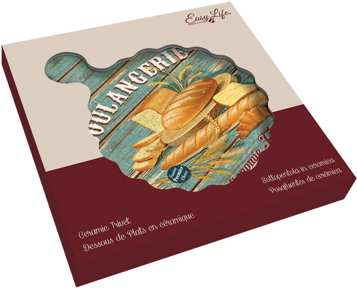 "Подставка с ручкой Nuova R2S ""Хлеб. Винтаж"", 20 х 25 см"