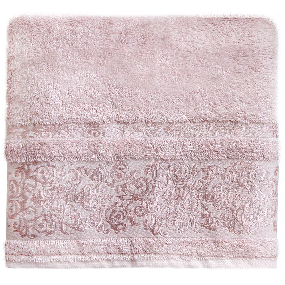 Полотенце банное Bonita Дамаск, махровое, цвет: розовый, 50 x 90 см21011217329Состав: 30% хлопок, 70% бамбук. Плотность: 450 гр/м2. Отлично впитывают влагу, быстро сохнут. Мягкие и шелковистые, имеют естественный блеск. Сохраняют цвет и первоначальные размеры после стирки.