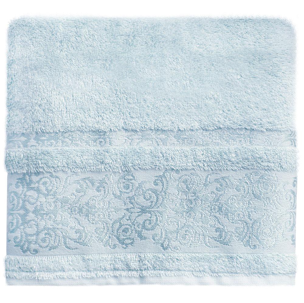 Полотенце банное Bonita Дамаск, махровое, цвет: голубой, 50 x 90 см21011217330Состав: 30% хлопок, 70% бамбук. Плотность: 450 гр/м2. Отлично впитывают влагу, быстро сохнут. Мягкие и шелковистые, имеют естественный блеск. Сохраняют цвет и первоначальные размеры после стирки.