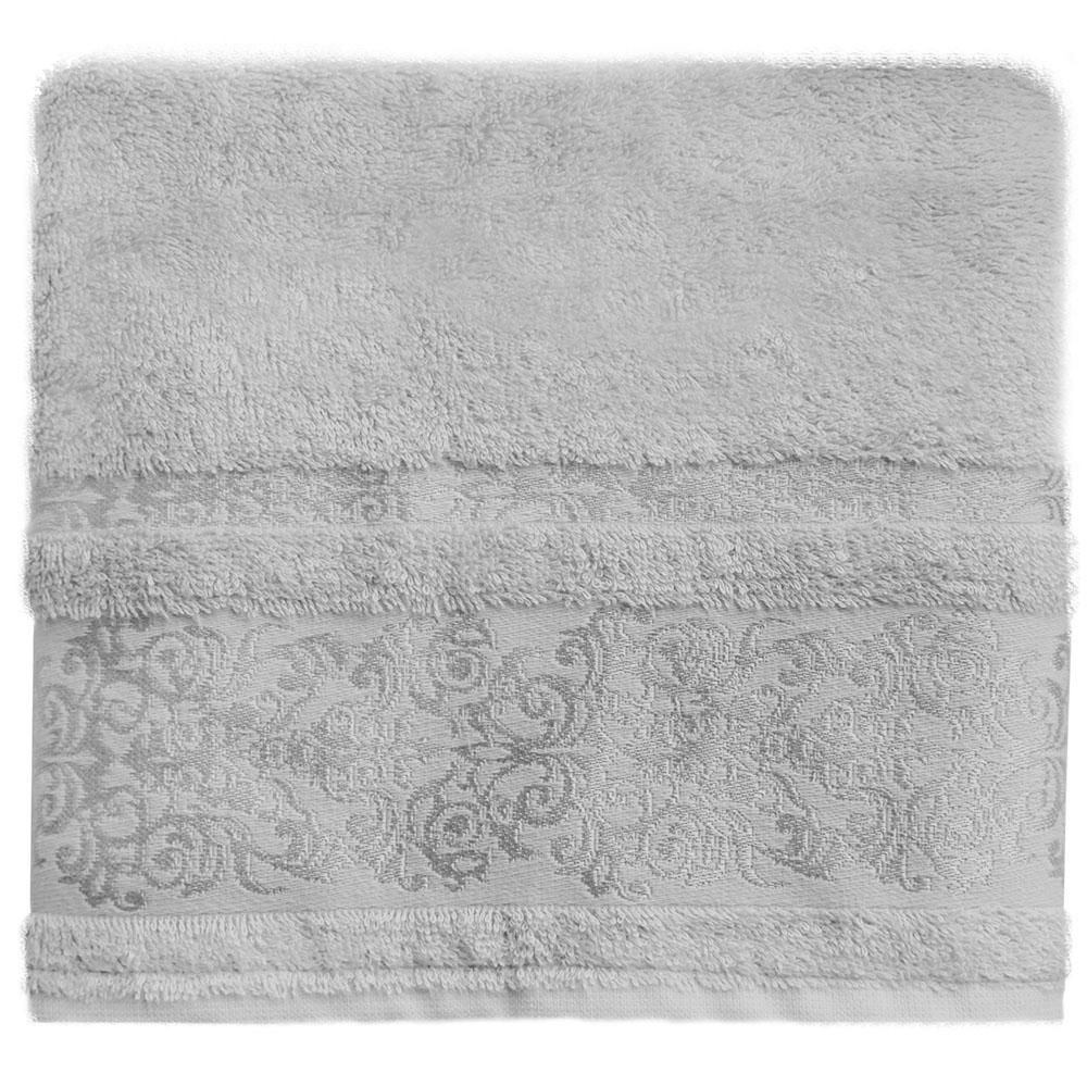 Полотенце банное Bonita Дамаск, махровое, цвет: серый, 70 x 140 см21011217336Состав: 30% хлопок, 70% бамбук. Плотность: 450 гр/м2. Отлично впитывают влагу, быстро сохнут. Мягкие и шелковистые, имеют естественный блеск. Сохраняют цвет и первоначальные размеры после стирки.