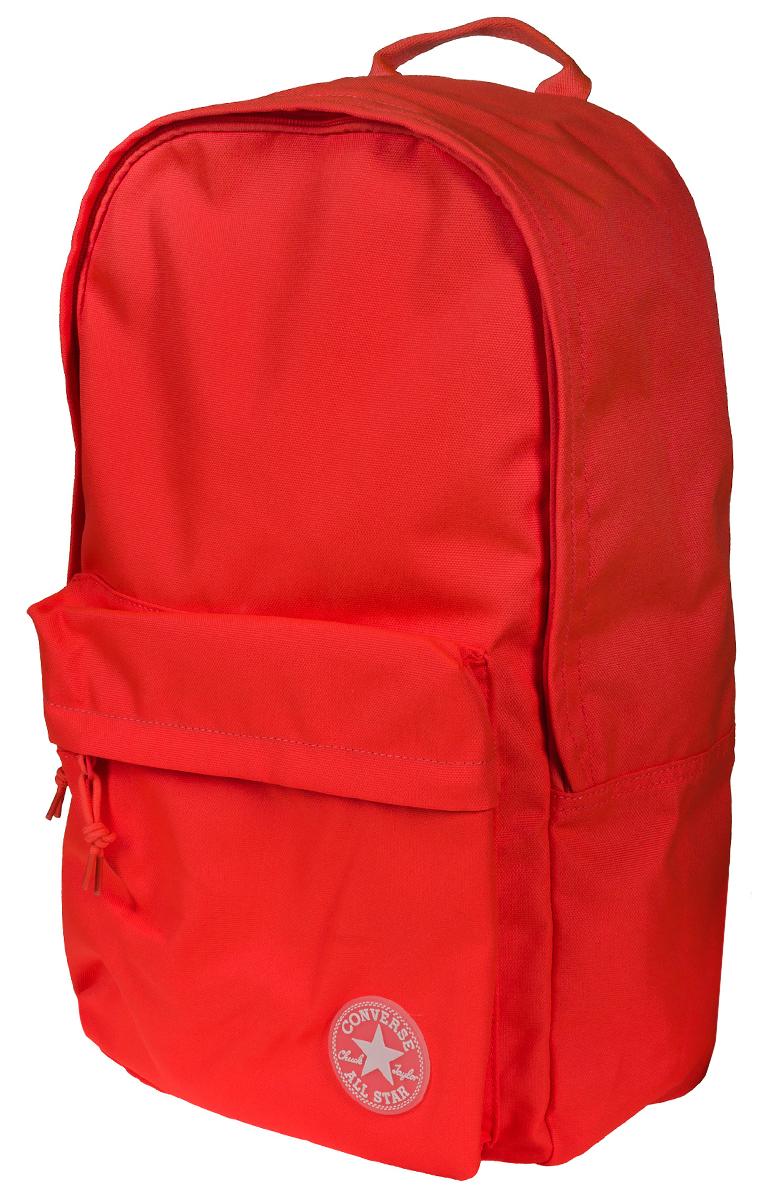 Рюкзак городской Converse Edc Poly Backpack, цвет: оранжевый. 1000333083010003330830Рюкзак городской Converse выполнен из полиэстера. Модель с одним отделением застегивается на молнию. Передняя стенка оформлена объемным карманом на молнии. Внутри имеется вместительный карман. Рюкзак оснащен широкими регулируемыми по длине плечевыми лямками и петлей для подвешивания.