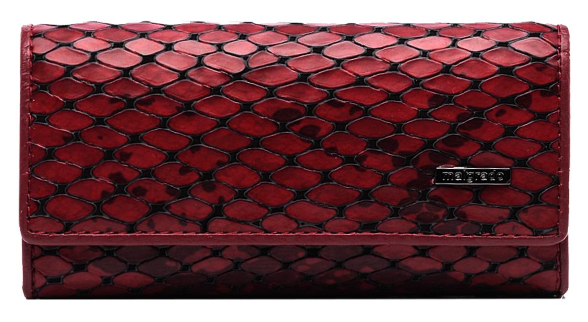 Ключница Malgrado, цвет: красный. 47006-5250147006-52501Стильная ключница Malgrado изготовлена из натуральной кожи с декоративным фактурным тиснением под кожу рептилии и оформлена металлической пластиной с символикой бренда. Изделие закрывается широким клапаном на две кнопки. Внутри ключницы расположены шесть крючков для ключей, кармашек на застежке-молнии и металлическое кольцо для возможности крепления к поясу или сумке. Ключница упакована в коробку из плотного картона с логотипом фирмы. Компактная ключница станет отличным подарком для человека, ценящего качественные и необычные вещи.