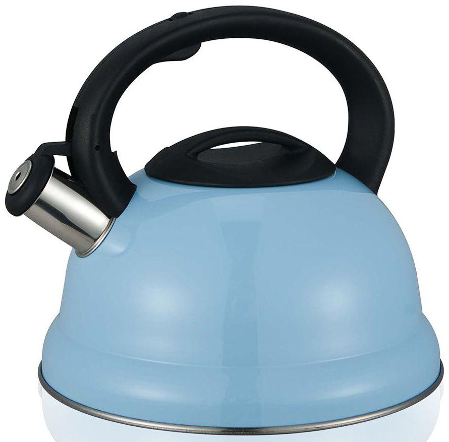 Чайник со свистком MiEssa, цвет: голубой, 3 лM11-20ч3/0
