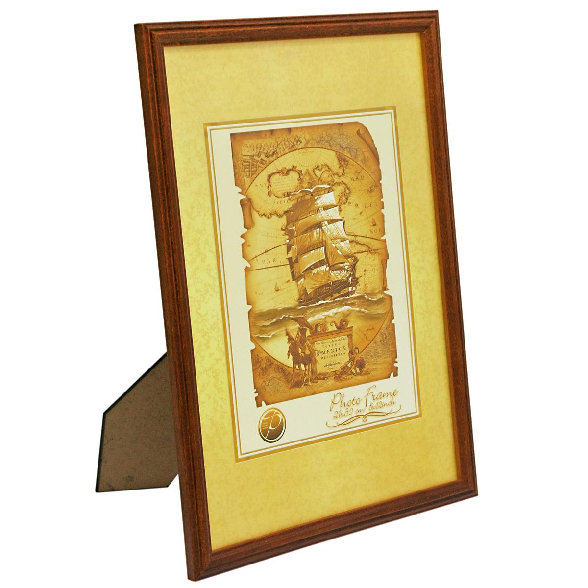 Фоторамка деревянная Veld-Co, цвет: темно-рыжий, 10 х 15 см6268_темно-рыжийФоторамка Pioneer Nora выполнена из дерева и стекла, защищающего фотографию. Оборотная сторона рамки оснащена специальной ножкой, благодаря которой ее можно поставить на стол или любое другое место в доме или офисе. Также изделие оснащено специальными отверстиями для подвешивания на стену. Такая фоторамка поможет вам оригинально и стильно дополнить интерьер помещения, а также позволит сохранить память о дорогих вам людях и интересных событиях вашей жизни.