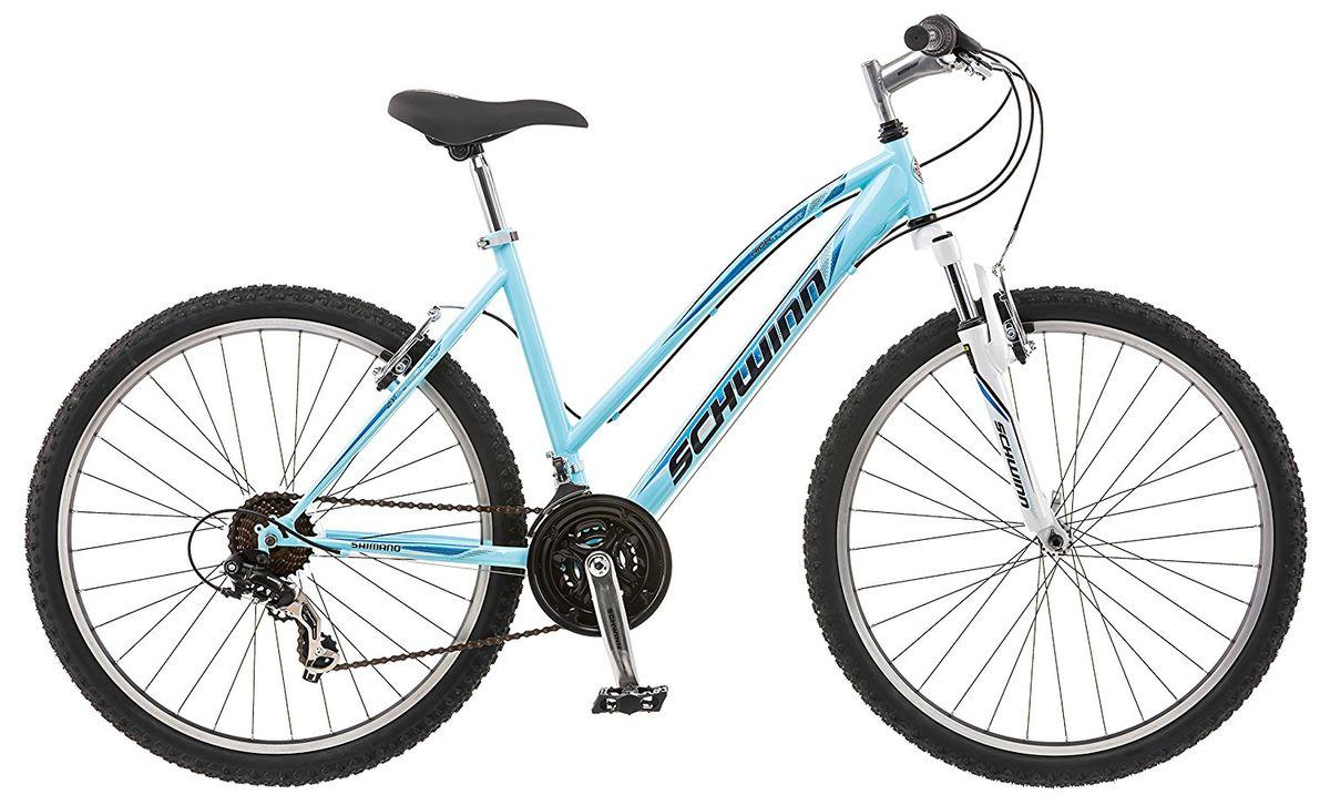 Велосипед горный Schwinn High Timber, мужской, рама 18, колеса 27,5, 21 скорость, цвет: белыйS4009CHigh Timber Mens 27,5 – это надёжный велосипед для передвижения по пересечённой местности. Хотите кататься по любым ландшафтам с комфортом, устойчивостью, манёвренностью и главное безопасностью? С горным велосипедом High Timber Mens со спортивной посадкой любой мужчина сможет стать покорителем вершин и бездорожья. Амортизационная вилка, которая отлично отрабатывает неровности, оснащена подпружиненными пыльниками, не пропускающими пыль и влагу внутрь, для большего срока службы вилки. Простые в настройке и обслуживании ободные тормоза отлично работают в любую погоду. Переключатели Shimano подарят непревзойдённую надёжность и качество при смене передач. • Прочная стальная MTB рама размером 18 • Амортизационная вилка с подпружиненными пыльниками • Простые в настройке и обслуживании ободные тормоза для любой погоды • Переключатели передач Shimano Tourney • 21 скорость • Руль и седло регулируются по высоте и наклону • Защита цепи • Алюминиевые обода ...