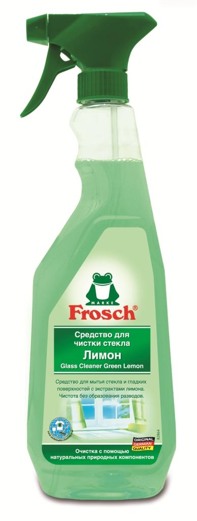 Средство для чистки стекла Frosch, с ароматом лимона, 750 мл708363Чистящее средство Frosch предназначено для чистки стекл и гладких поверхностей. Средство чистит с помощью натуральной формулы без добавления спирта, не оставляя разводов на стеклянной или блестящей поверхности. Экологически безопасный состав на основе натуральных компонентов обеспечивает идеальное удаление грязи и жира. Эргономичный флакон оснащен курковым распылителем, позволяющим легко и экономично наносить раствор на загрязненную поверхность. Торговая марка Frosch специализируется на выпуске экологически чистой бытовой химии. Для изготовления своей продукции Frosch использует натуральные природные компоненты. Ассортимент содержит все необходимое для бережного ухода за домом и вещами. Продукция торговой марки Frosch эффективно удаляет загрязнения, оберегает кожу рук и безопасна для окружающей среды. Характеристики: Объем: 750 мл. Производитель: Германия. Товар сертифицирован.