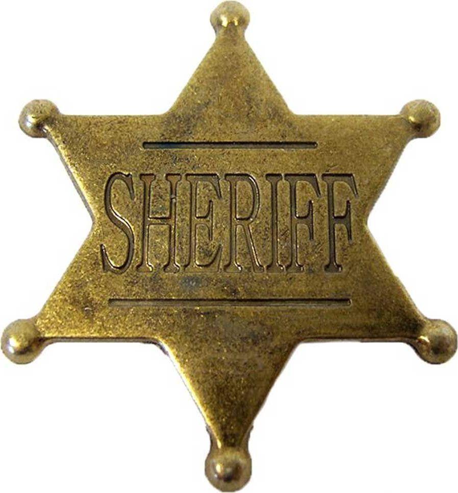 Звезда шерифа шестиконечная, 4,5 см. РепликаD7/106В США шериф округа, является шефом окружной полиции и чаще всего, это слово там используется именно в этом значении. Должность эта, как правило, выборная и срок полномочий 2 — 4 года. В его основные функции входят: поддержание правопорядка, борьба с преступностью, помощь в правосудии, функции судебного пристава, административное управление окружной тюрьмой. Эмблема имеет прямое отношение к Вифлеемской звезде, которая в США, в конце XVIII века была сделана государственной эмблемой США и внесена официально в герб США на почетное главное место (над орлом в окружении облака), но в несколько «закодированном» виде, то есть в виде расположенных в форме шестиконечной звезды 13 пятиконечных звездочек, которые символизируют 13 основных штатов, составивших первые в США. Эти звездочки расположены симметрично так, что сверху вниз они следуют 1:4:3:4:1 и в совокупности образуют одну шестиконечную Вифлеемскую звезду.