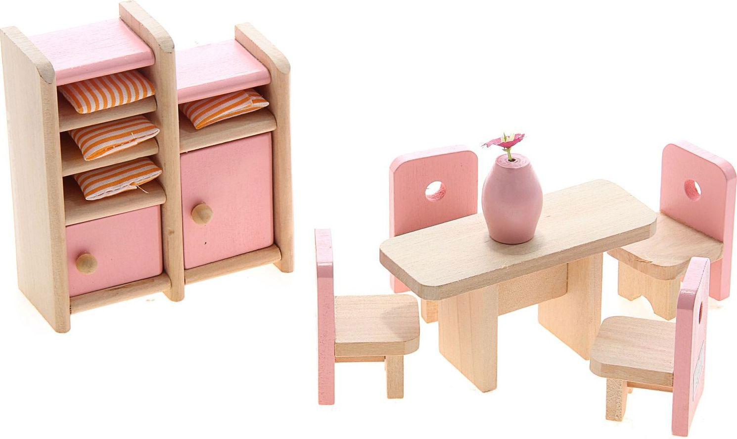 Sima-land Мебель для кукол Столовая 8 предметов 730416 куплю 3 х комнатную квартиру в елшанке