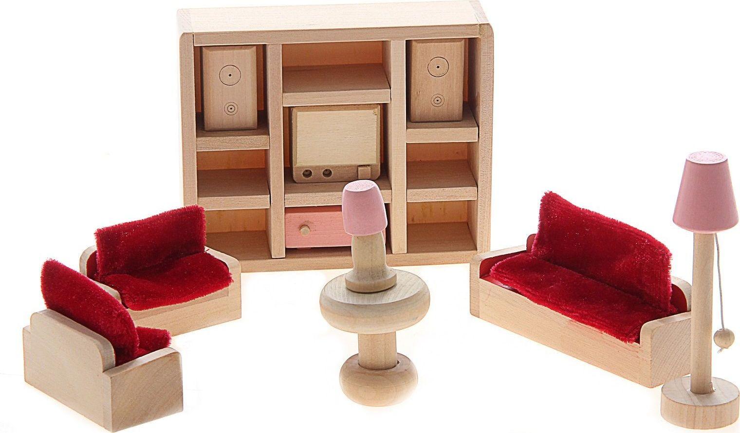 Sima-land Мебель для кукол Гостиная 11 предметов 730418 куплю 3 х комнатную квартиру в елшанке