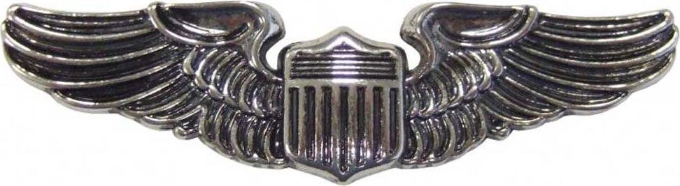 Знак Pilot Wings. РепликаD7/150Нагрудный значок пилота США времен Второй Мировой Войны. Испанская компания DENIX основана в 1966 году двумя опытными ювелирами. DENIX делает высококачественные копии различных видов огнестрельного, холодного и декоративного оружия. В каталоге Фирмы более 300 знаменитых моделей пистолетов, ружей, сабель, пулеметов, канцелярских ножей, военных и охотничьих аксессуаров. Испанцы сумели завоевать доверие очень капризной аудитории - это коллекционеры и любители оружия, военные историки и мемуаристы, организаторы праздников, реквизиторы театра и кино. Все эти люди понимают толк в аутентичности реплики и потому предъявляют самые высокие требования к материалам и дизайну.