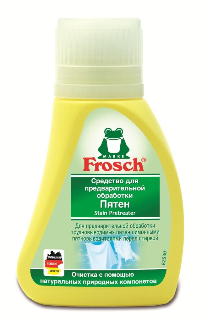 Средство для предварительной обработки пятен Frosch, 75 мл1105957Средство Frosch предназначено для предварительной обработки въевшихся пятен перед стиркой. Эффективное удаление пятен с помощью цитрата соли лимонной кислоты. Характеристики: Объем: 75 мл. Производитель: Германия. Товар сертифицирован. Уважаемые клиенты! Обращаем ваше внимание на возможные изменения в дизайне упаковки. Качественные характеристики товара остаются неизменными. Поставка осуществляется в зависимости от наличия на складе.