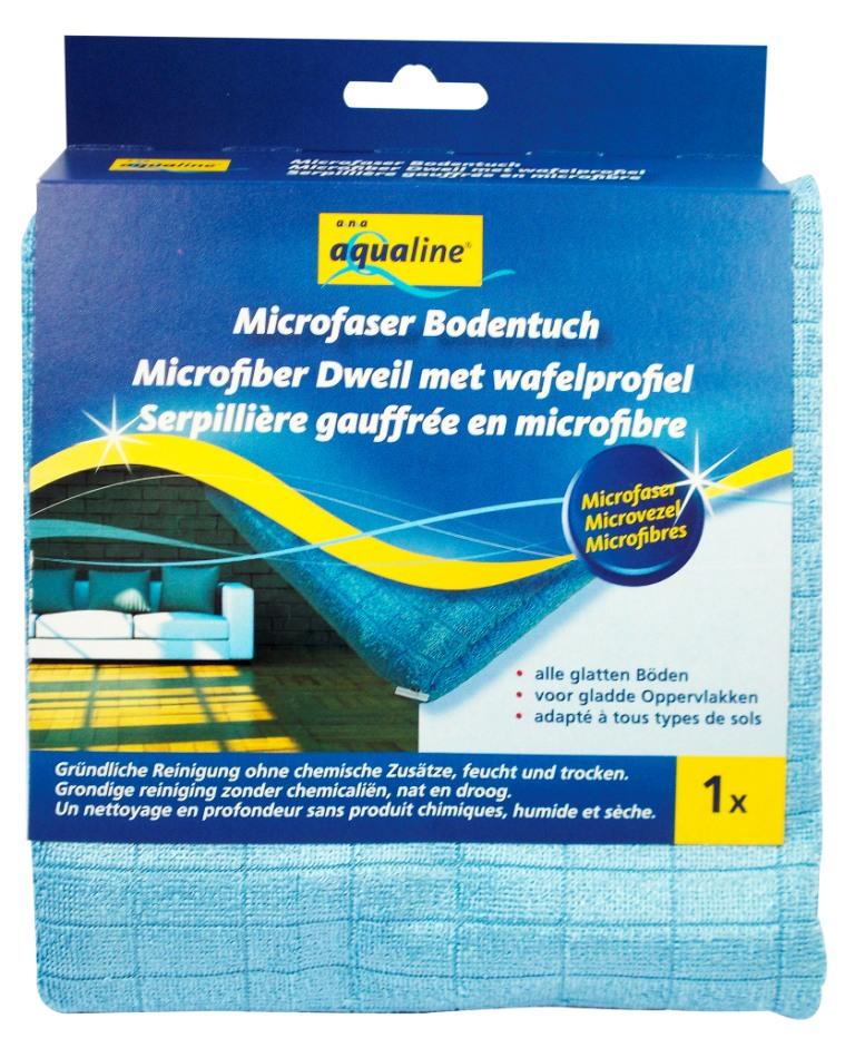 Тряпка для мытья пола Aqualine, 50 х 55 см 23242324Тряпка Aqualine, выполненная из микроволокна, отлично подойдет для мытья полов. Благодаря специальному рисунку волокон эффективно удаляет загрязнения без бытовой химии, не оставляя разводов. Она обладает высокой впитывающей способностью и легко выжимается. Подходит для сухой и влажной уборки всех видов полов. Характеристики: Материал: микроволокно (80% полиэстер, 20% полиамид). Размер: 50 см х 55 см. Размер упаковки: 15 см х 3 см х 17,5 см. Производитель: Германия. Артикул: 2324. Уважаемые клиенты! Обращаем ваше внимание на возможные изменения в дизайне упаковки. Качественные характеристики товара остаются неизменными. Поставка осуществляется в зависимости от наличия на складе.