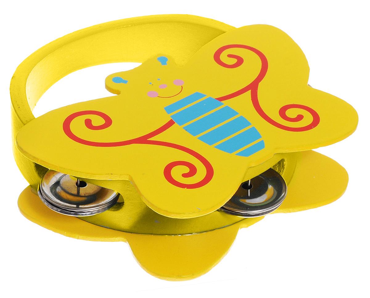 Мир деревянных игрушек Бубен Бабочка мир деревянных игрушек цирк