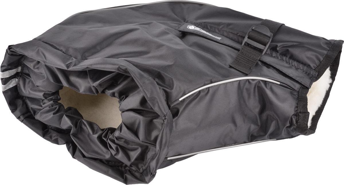 Муфта на руль Starks Warm 35, цвет: черный. Размер S/MЛЦ0034_SМуфта универсальная защитная на руль. Подходит для любой мототехники: снегоход, квадро, мото, питбайк, кросс. Муфта производится в двух размерах: 1. S-M–подойдет на любой руль не снабженный защитными щитками и малокубатурной техники; 2. L-XL–подойдет на любой руль с защитой и без. Для техники с любым размеров руля. Водонепроницаемый наружный материал-защита от воды, холода, грязи. Внутренняя часть-Мех-согревает руки. Дополнительный разъем-позволяет установку на руль с зеркалами. Стропа фиксируется муфту на руле. Уплотнительная резинка в районе запястья исключает попадание холодного воздуха, влаги, что обеспечивает сохранение тепла. Муфта имеет светоотражающий кант и двойную светоотражающую ленту по фронтальной части. Антибактериальный, гипоаллергенныймех. Состав: Мех-80% натуральный,20%-полиэстер, Наружная ткань-100% Полиэстер