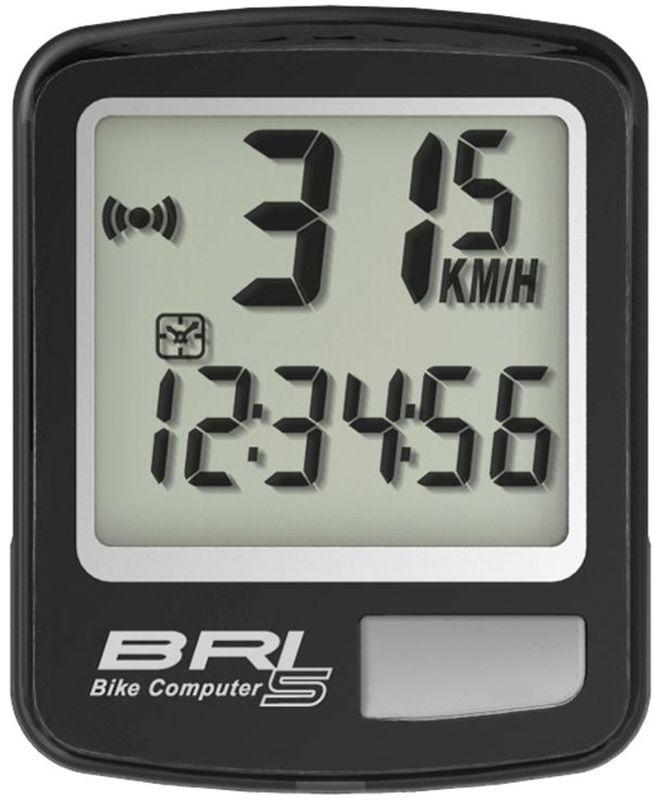 Велокомпьютер Echowell BRI-5, 5 функций, цвет: черныйBRI-5Проводной велокомпьютер Echowell BRI-5 с пятью функциями в стильном корпусе предназначен для использования при занятиях велоспортом, велотуризмом и просто катании на велосипеде. Это удобный и простой в использовании электронный прибор, предоставляющий велосипедисту всю необходимую информацию о поездке. Имеет отличную водо и пылезащиту. Велокомпьютер состоит из двух частей соединенных проводом - дисплея, внешне похожего на электронные часы и датчика скорости. Дисплей крепится на руле с возможностью мгновенно отсоединить его, когда нет желания оставлять на велосипеде без присмотра или под дождем. Магнитный датчик скорости (геркон) крепится рядом с колесом. Велокомпьютер определяет скорость движения с точностью до десятых долей, дистанцию - с точностью до 10 метров. На дисплее функции поочередно сменяют друг друга. Все операции и настройки выполняются одной кнопкой.Функции: - Скорость текущая - Дистанция поездки - Одометр - Часы - Скан (функция скан...