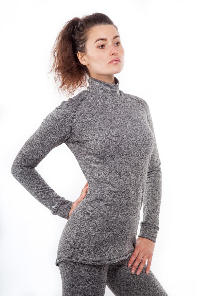 Термобелье кофта женская Starks Warm, зимняя, цвет: серый. Размер SЛЦ0018_S_ЖенКофта женская Starks Warm предназначена для активных физических нагрузок в зимнее время года, например, для рыбалки, бега, катания на лыжах и сноуборде, альпинизма. Кофта изготовлена из гипоаллергенного материала (92% полиэстера с добавлением 8% эластана). Ткань пропитана ионами серебра, что предотвращает образование и развитие бактерий. Высокие эластичные свойства материала позволяют модели максимально повторять индивидуальную анатомию тела и создавать эффект второй кожи. Отличные влагоотводящие свойства позволяют телу оставаться сухим. Высокие термоизоляционные свойства исключают переохлаждение или перегрев. Воротник-стойка обеспечивает защиту шеи от холода. Система мягких и плоских швов гарантирует комфорт и при повседневной носке.