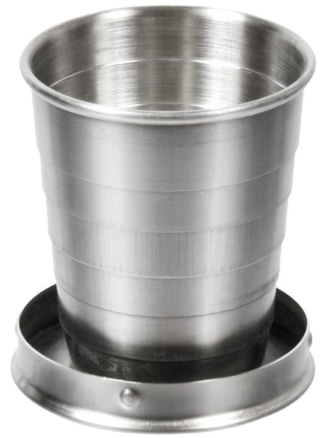 Стакан Boyscout, складной, в чехле, 60 мл61133Предназначение: индивидуальный портативный стаканчик незаменим в походе, в дороге, на даче и пикнике. С помощью карабина пристегивается к ремню или рюкзаку. Условия хранения: хранить в сухом месте.