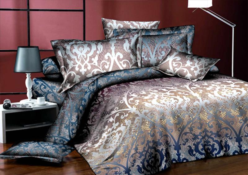Комплект белья ЭГО Империя, 1,5-спальный, наволочки 70x70Э-2040-01Комплект белья ЭГО выполнен из полисатина (50% хлопка, 50% полиэстера). Комплект состоит из пододеяльника, простыни и двух наволочек. Постельное белье имеет изысканный внешний вид и яркую цветовую гамму. Гладкая структура делает ткань приятной на ощупь, мягкой и нежной, при этом она прочная и хорошо сохраняет форму. Ткань легко гладится, не линяет и не садится. Приобретая комплект постельного белья ЭГО, вы можете быть уверенны в том, что покупка доставит вам и вашим близким удовольствие и подарит максимальный комфорт.