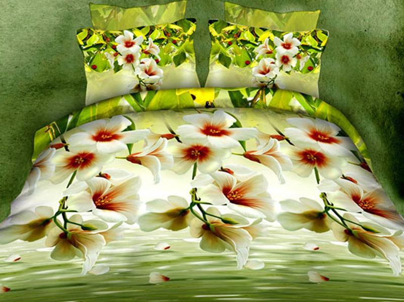 Комплект белья ЭГО Настроение, 2-спальный, наволочки 70x70Э-2037-02Комплект белья ЭГО выполнен из полисатина (50% хлопка, 50% полиэстера). Комплект состоит из пододеяльника, простыни и двух наволочек. Постельное белье имеет изысканный внешний вид и яркую цветовую гамму. Гладкая структура делает ткань приятной на ощупь, мягкой и нежной, при этом она прочная и хорошо сохраняет форму. Ткань легко гладится, не линяет и не садится. Приобретая комплект постельного белья ЭГО, вы можете быть уверенны в том, что покупка доставит вам и вашим близким удовольствие и подарит максимальный комфорт.