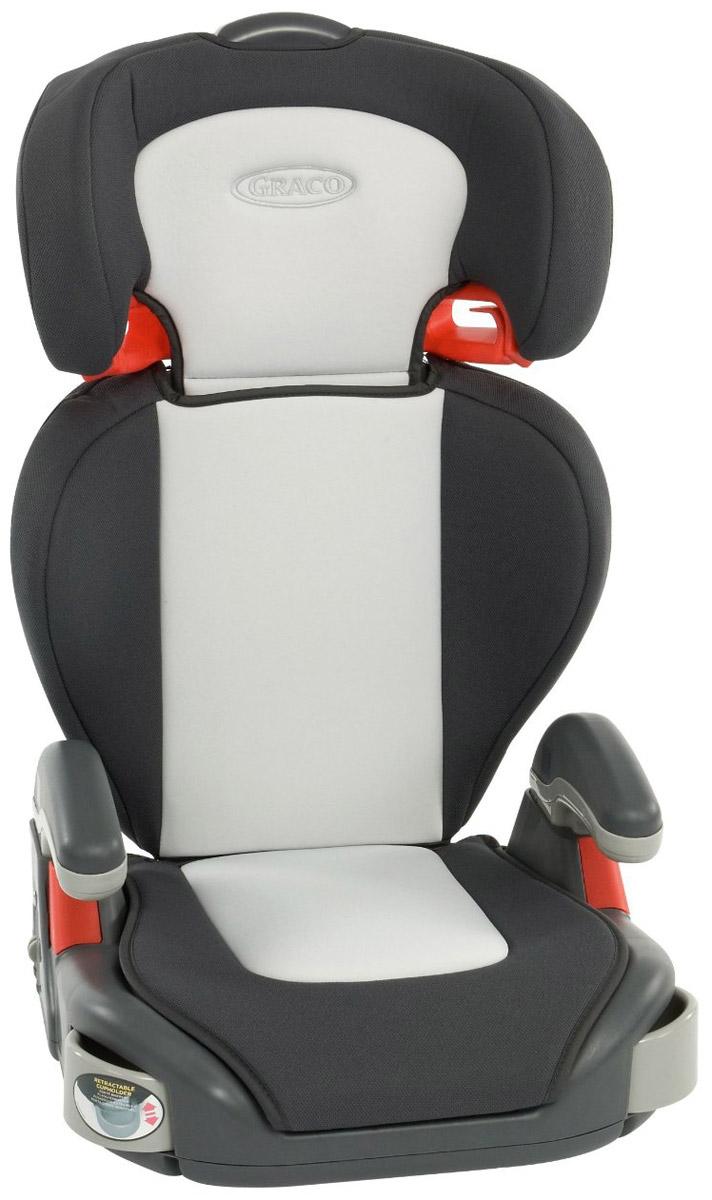 Graco Автокресло Junior Maxi от 15 до 36 кг цвет темно-серый светло-серый 1808406_темно-серый, светло-серой