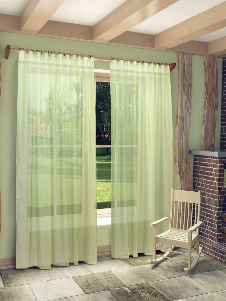 Тюль Sanpa Home Collection Пегги, на ленте, цвет: зеленый, высота 280 смHP10058/23/1E Пегги зеленый, , 300*280 смТюль Пегги нежного цвета изготовлена из микровуали. Микровуаль соединила в себе положительные качества вуали - мягкость, изысканность - и органзы - светопроницаемость, упругость. При этом микровуаль является новым, заслуживающим отдельного внимания видом ткани. Обладая удивительной тонкостью, прозрачностью, полуорганза невероятно пластична и прочна, к тому же, она не поддаётся деформации, усадке и устойчива к ультрафиолетовым лучам. Воздушная ткань привлечет к себе внимание и идеально оформит интерьер любого помещения. Тюль сделает ваш интерьер более нежным, воздушным и невесомым. Можно драпировать окно только тюлью или только портьерами, но вместе они создают идеальную композицию. Мы рекомендуем под однотонные портьеры нейтральных тонов подбирать сложносочиненную тюль, с изысканной вышивкой и орнаментом, а под портьеры с рисунком или ярких тонов - выбирать тюль с минималистичным рисунком или вообще без него. Крепление к карнизу осуществляется при помощи вшитой...