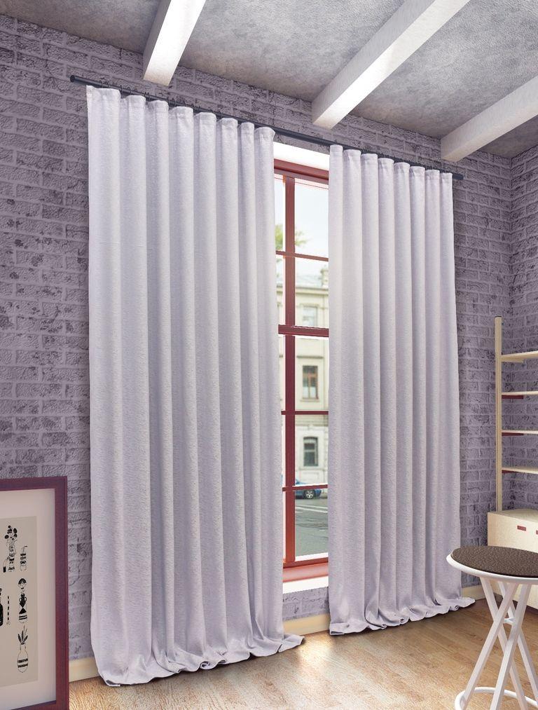 Штора Sanpa Home Collection Шерил, на ленте, цвет: серый, высота 270 смHP71016/7759/1E Шерил серый, , 200*270 см