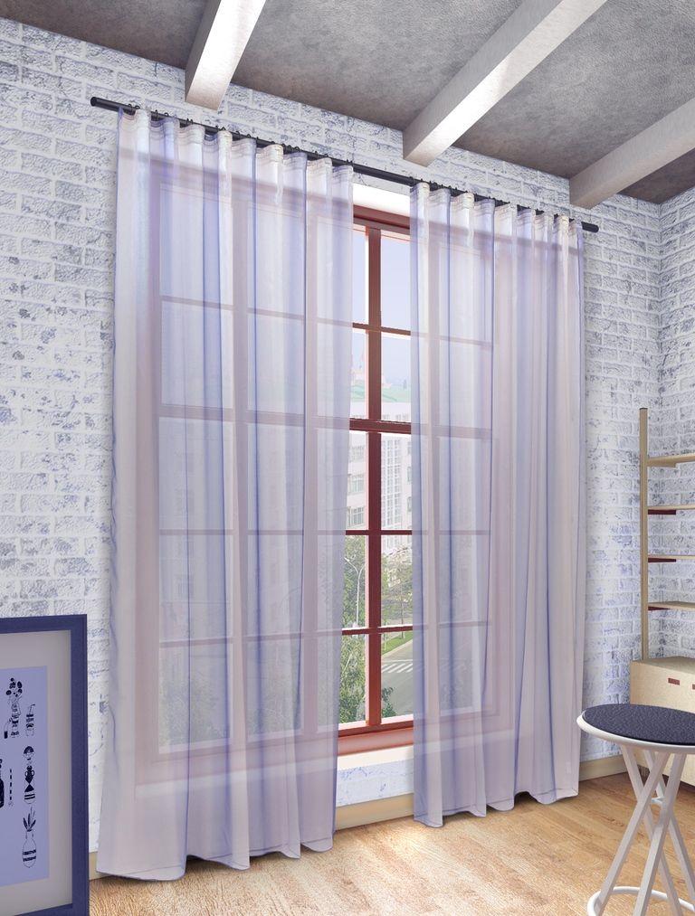 Тюль Sanpa Home Collection Мери, на ленте, цвет: голубой, высота 280 смHP10001/41/1E Мери голубой, , 300*280 см