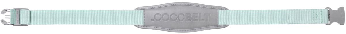 Cocobelt Ремень для переноски автолюльки цвет мятный серый