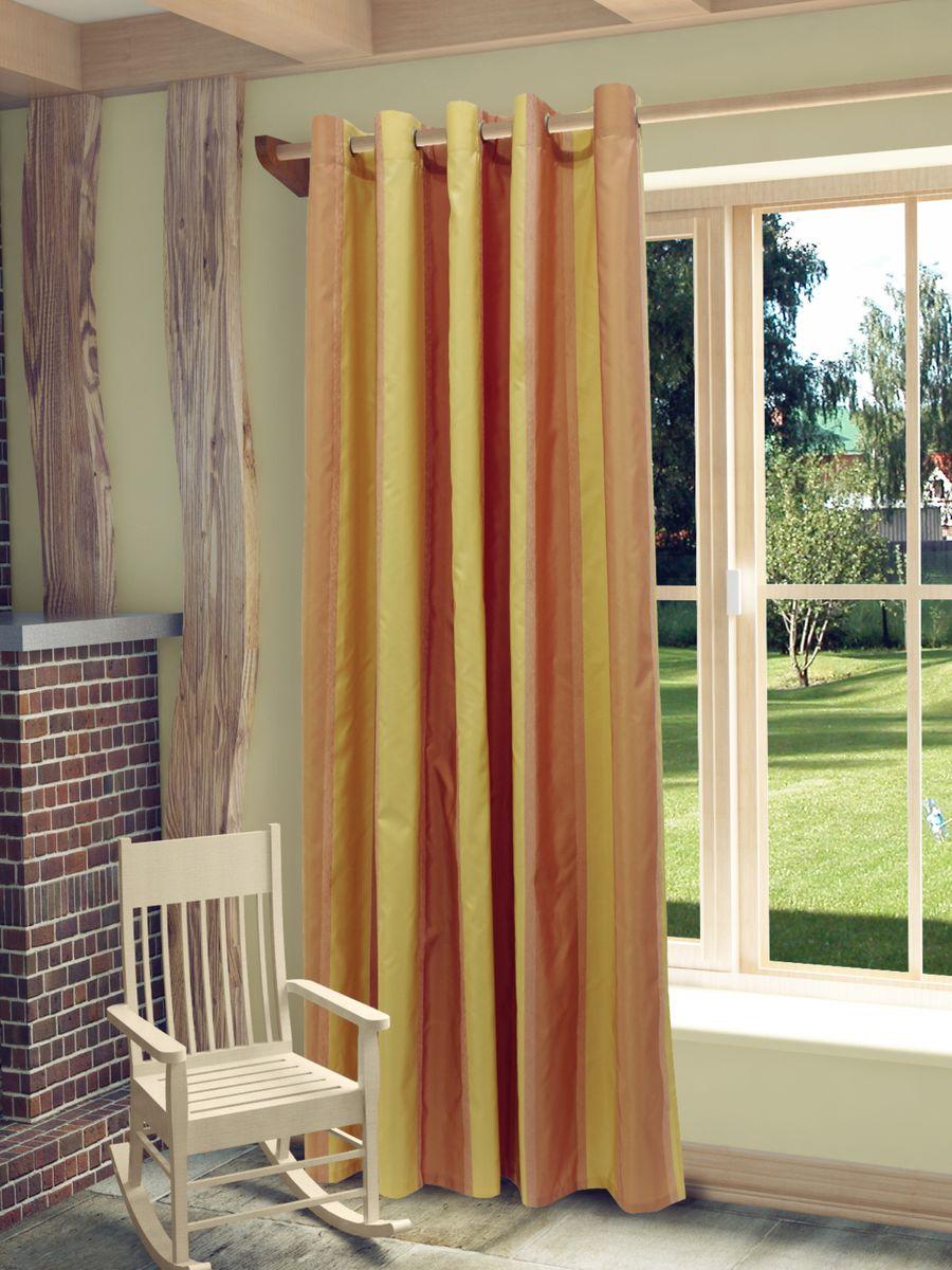 Штора Sanpa Home Collection Иветта, на люверсах, цвет: розовый, высота 260 смHP30023/8/1H Иветта розовый, , 200*260 см