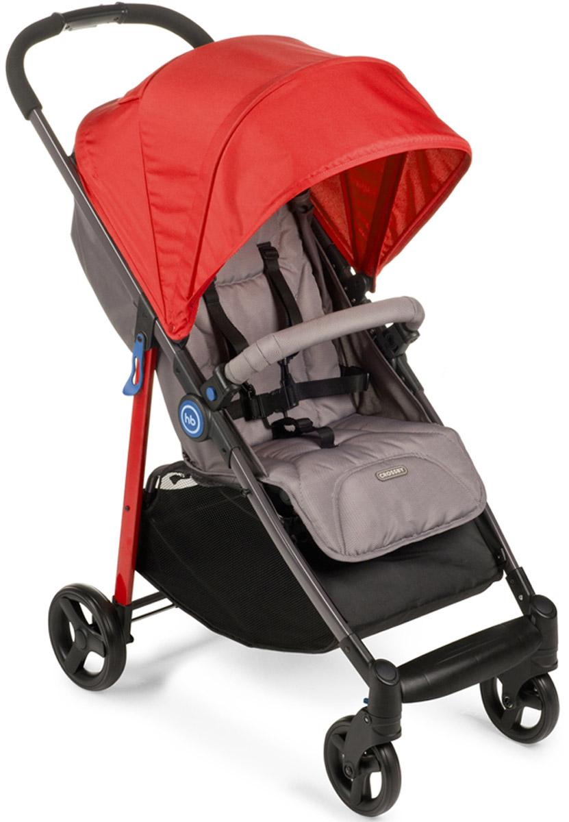 Happy Baby Коляска прогулочная Crossby цвет красный