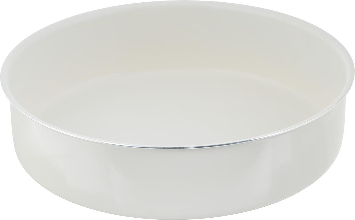 """Форма для запекания NaturePan """"Еco-Line"""", круглая, с керамическим покрытием, диаметр 28 см"""