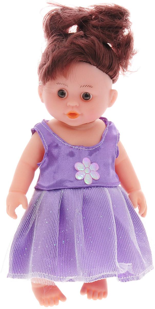 Veld-Co Кукла озвученная цвет платья сиреневый