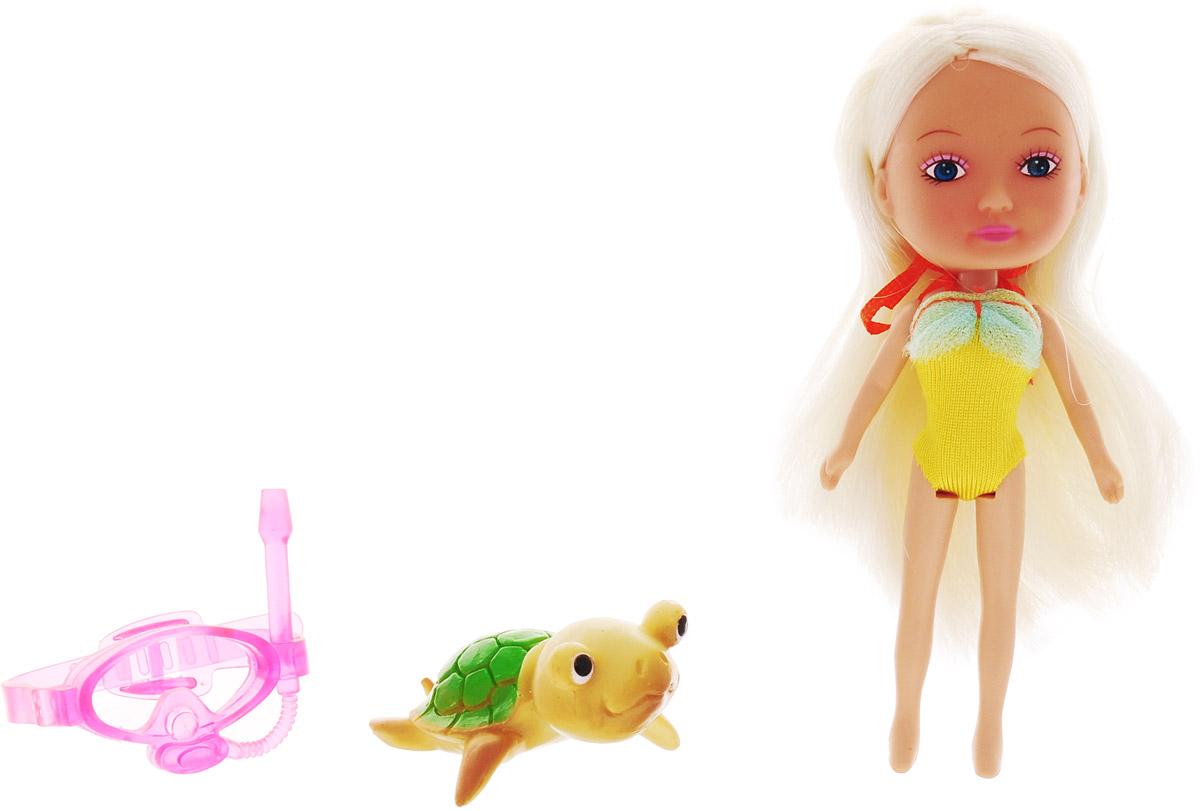 Veld-Co Мини-кукла Mona с черепахой