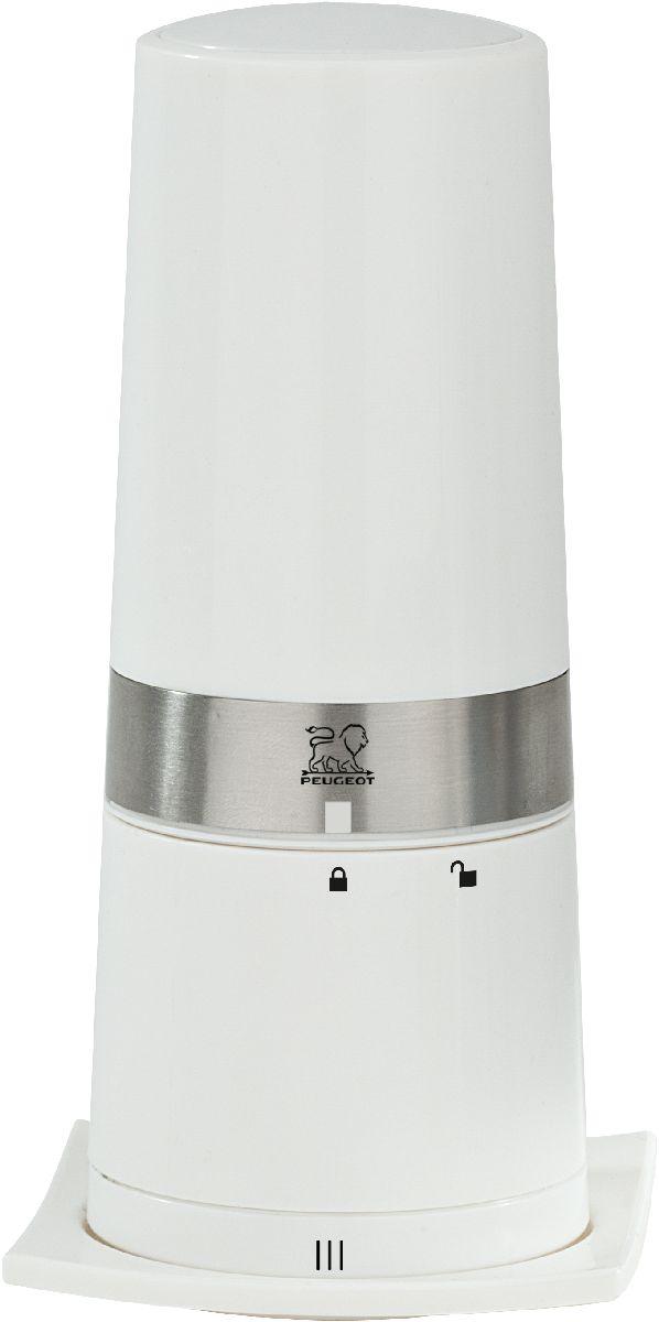 Мельница для сыра Peugeot Annecy, цвет: белый, 18 см500108Мельницы для специй PEUGEOT имеют безупречную репутацию благодаря легендарному внутреннему механизму, который совершенствовался в течение 160 лет и продолжает улучшаться благодаря высокотехнологичным возможностям современного производства.