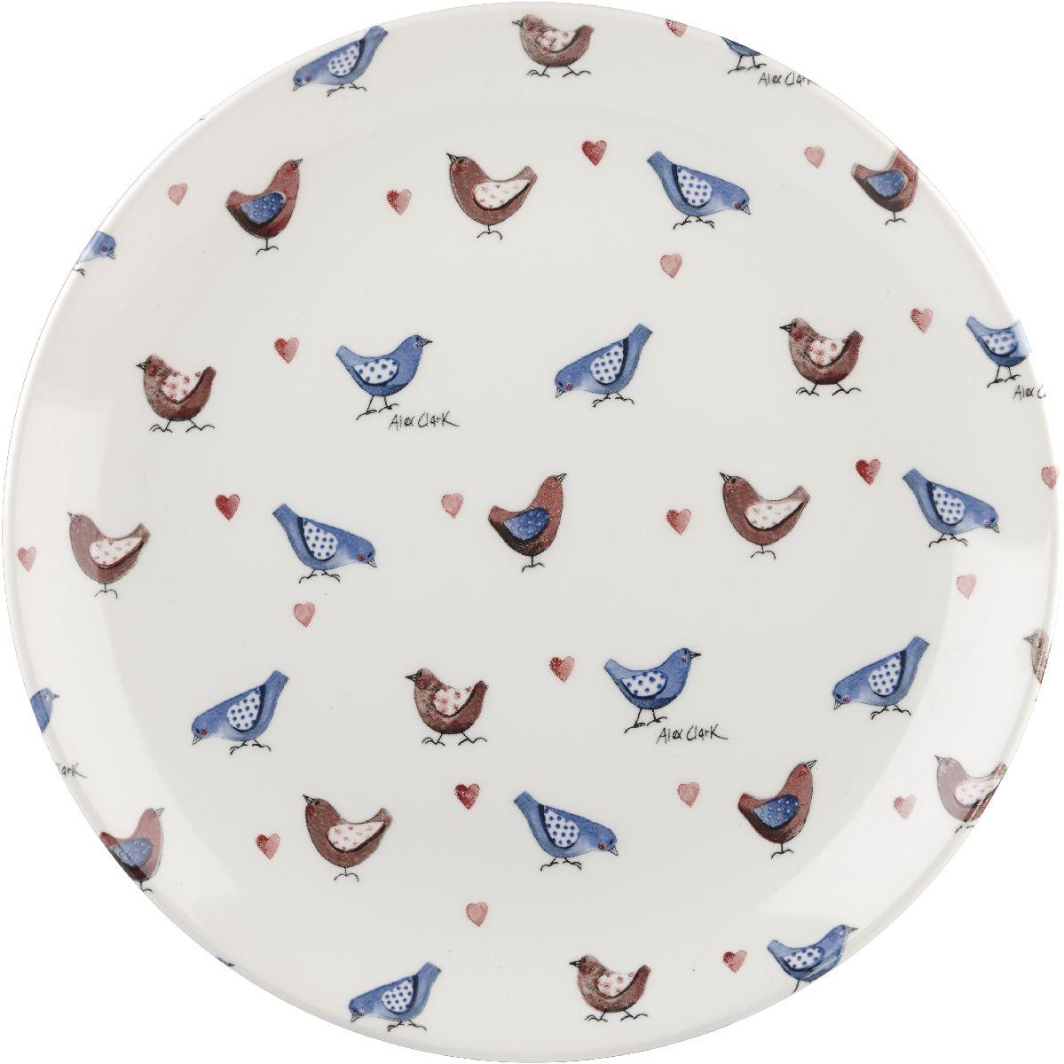 Тарелка Churchill, диаметр 26 см. ACLB00011ACLB00011Коллекция Птички - уникальное сочетание живой природы и прекрасные воспоминания из детства. Легкий и простой дизайн с пастельными красками идеально подойдет для любой кухни.