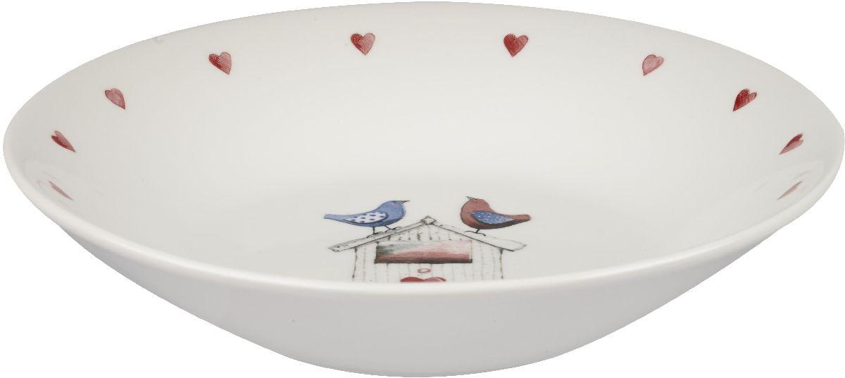 Тарелка глубокая Churchill, диаметр 20 см. ACLB00091ACLB00091Коллекция Птички - уникальное сочетание живой природы и прекрасные воспоминания из детства. Легкий и простой дизайн с пастельными красками идеально подойдет для любой кухни.