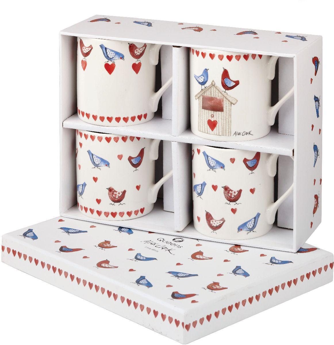 Набор кружек Churchill, 250 мл, 4 шт. ACLB00131ACLB00131Коллекция Птички - уникальное сочетание живой природы и прекрасные воспоминания из детства. Легкий и простой дизайн с пастельными красками идеально подойдет для любой кухни.
