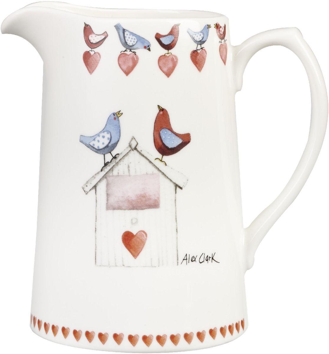 Кувшин Churchill, 750 млACLB00251Коллекция Птички - уникальное сочетание живой природы и прекрасные воспоминания из детства. Легкий и простой дизайн с пастельными красками идеально подойдет для любой кухни.