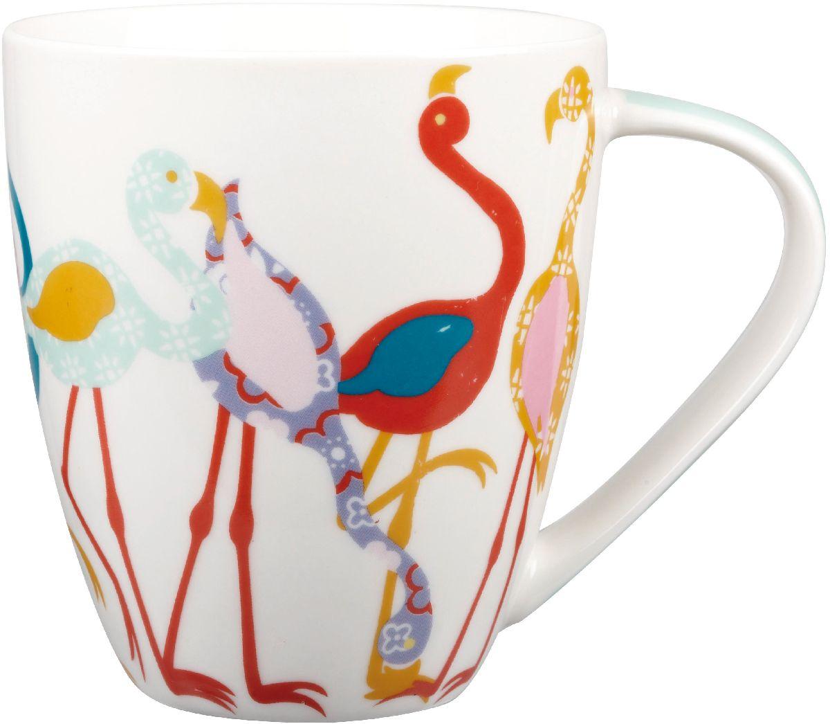 Кружка Churchill Фламинго, 500 млPARB00031Коллекция Кутюр использует эклектичное сочетание ярких цветов, чтобы создать самые модные узоры на посуде.