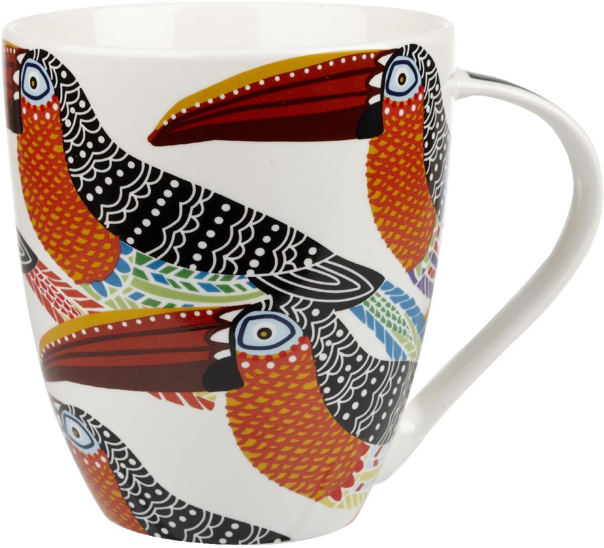 Кружка Churchill Туканы, 500 млPARB00061Коллекция Кутюр использует эклектичное сочетание ярких цветов, чтобы создать самые модные узоры на посуде.
