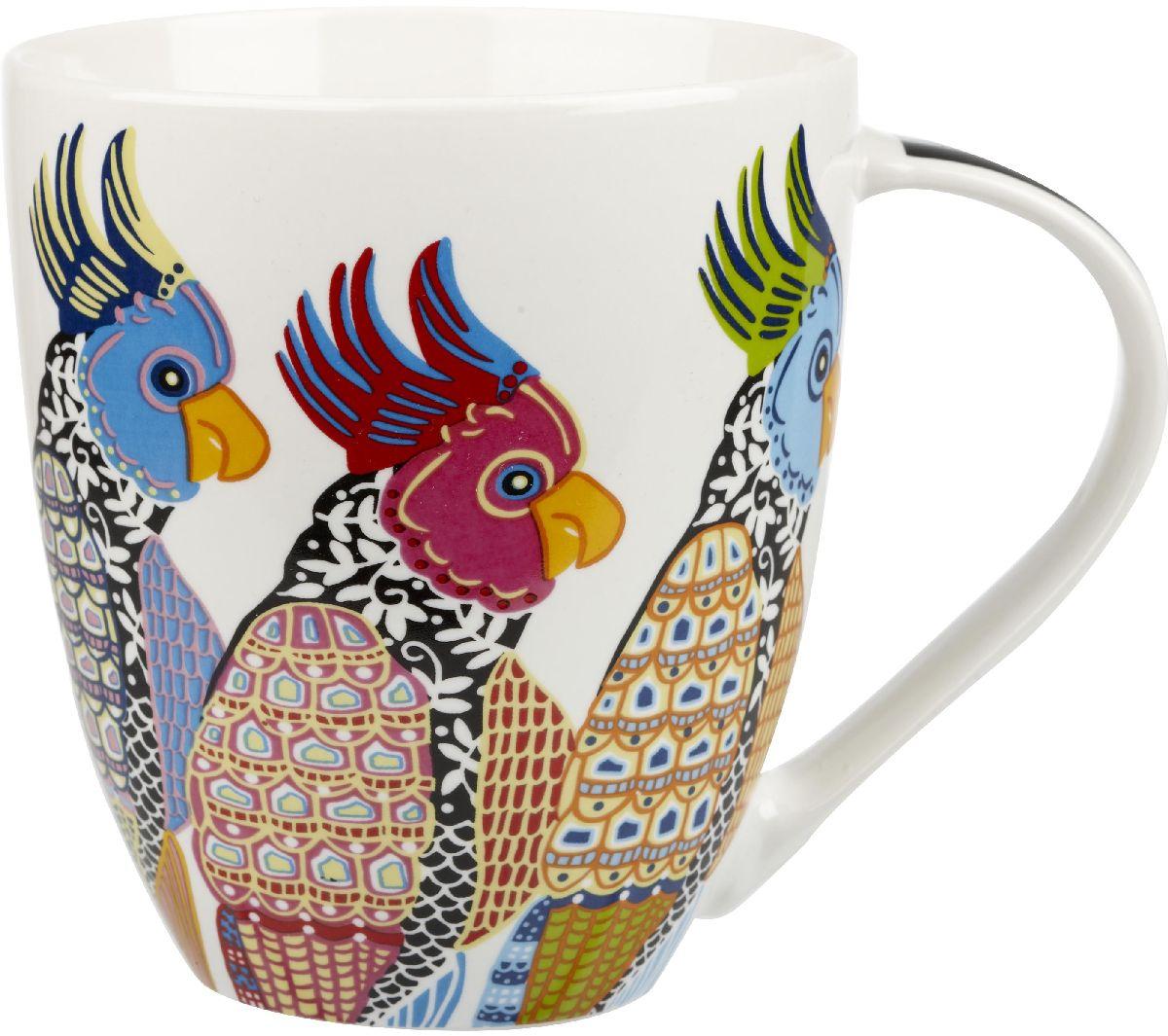 Кружка Churchill Попугаи, 500 млPARB00071Коллекция Кутюр использует эклектичное сочетание ярких цветов, чтобы создать самые модные узоры на посуде.