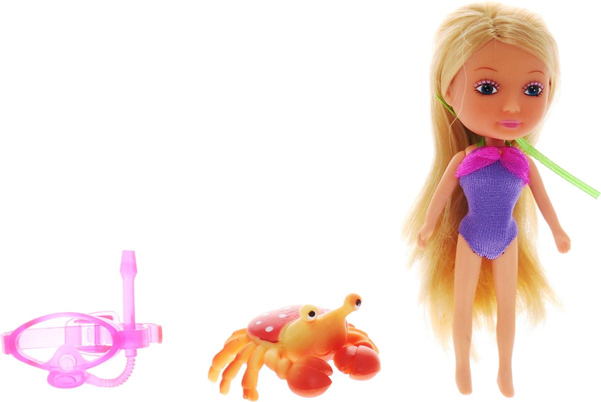 Veld-Co Мини-кукла Mona с крабом