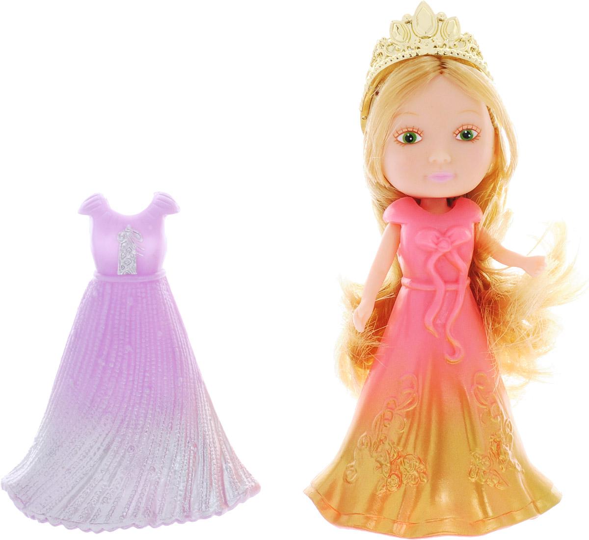 Veld-Co Мини-кукла Принцесса цвет золотистый сиреневый розовый
