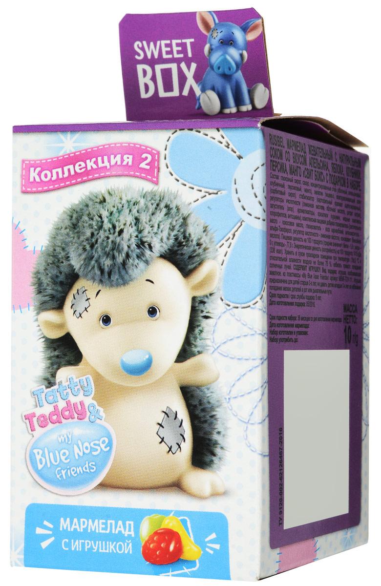 Sweet Box Tatty Teddy & My Blue Nose Friends жевательный мармелад с игрушкой, 10 г