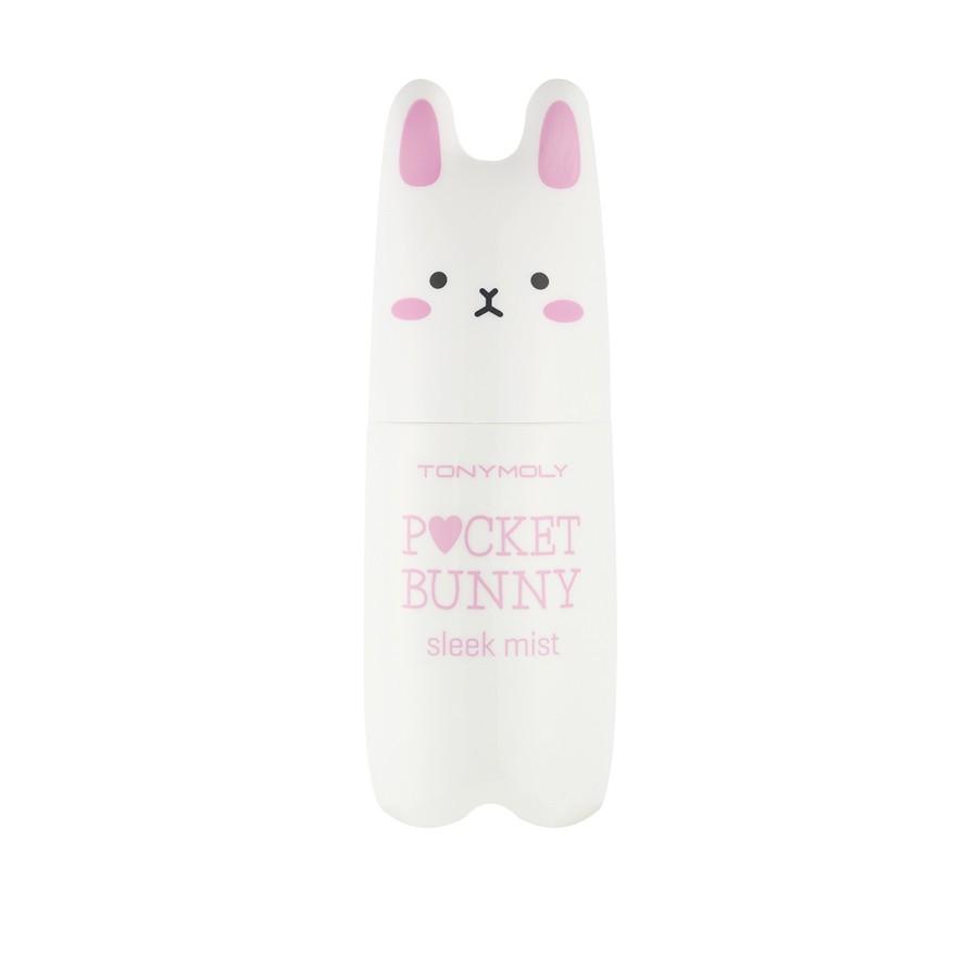 TonyMoly Мист для лица для жирной кожи Pocket Bunny Sleek Mist, 60 млSB99002300Этот мист не только освежает и увлажняет кожу, но и окутывает Вас тонким ароматом. Мист можно использовать как на коже лица, так и на зоне декольте и шеи.