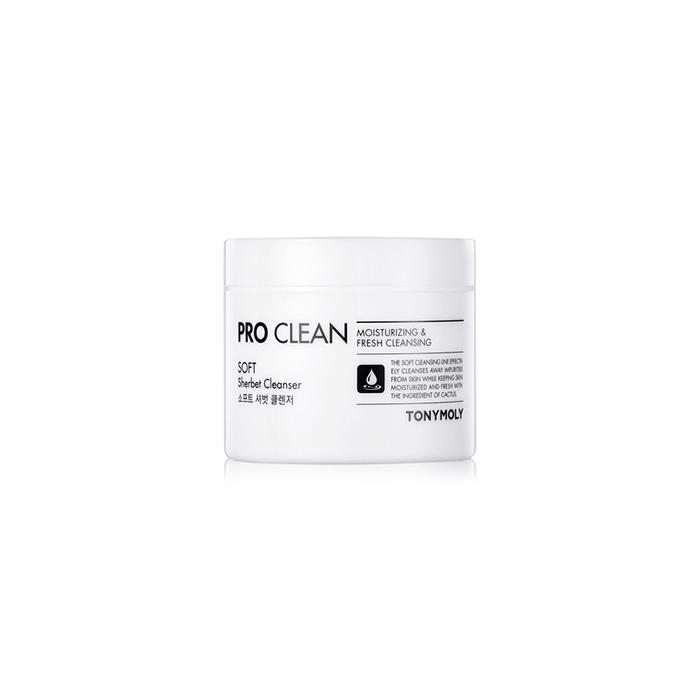 TonyMoly Очищающий щербет Pro-clean Sherbet cleanser, 90 грSS01013800Эффективно тонизирует, улучшает цвет лица, и дарит коже сияние, насыщает влагой, необходимыми питательными веществами и стимулирует процессы регенерации. Препятствует потере влаги и сохраняет влагу в коже на долгое время. Срок годности: 30 месяцев.