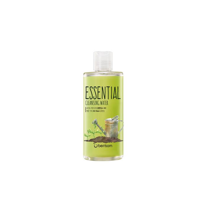 Berrisom Очищающая вода Berrisom Essential Cleansing Water - Sprout, 300 млБР142Вода эффективно удаляет макияж и увлажняет кожу. Бережно и деликатно очищает кожу от загрязнений, удаляет омертвевшие клетки, насыщает питательными веществами. Имеет успокаивающий эффект, придает ощущение длительного комфорта и свежести. Содержит экстракт зеленого чая, камелии, экстракт листьев гингко и рокет листьев. Сужает поры и мягко удаляет загрязнения из пор. Не содержит парабенов, животных экстрактов и т.д.