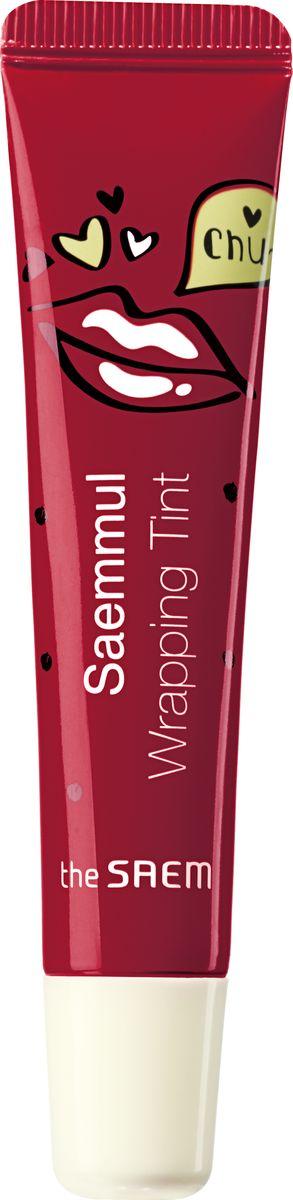 The Saem Тинт для губ Saemmul Wrapping Tint RD02 Real Red, 15 грСМ1508Питательный тинт-маска для губ – продукт с новой концепцией, который окрашивает их в необыкновенно сочные цвета и одновременно активно ухаживает за ними. Чувственные оттенки не теряют своей интенсивности в течение длительного времени, не оставляя следов на одежде и посуде.