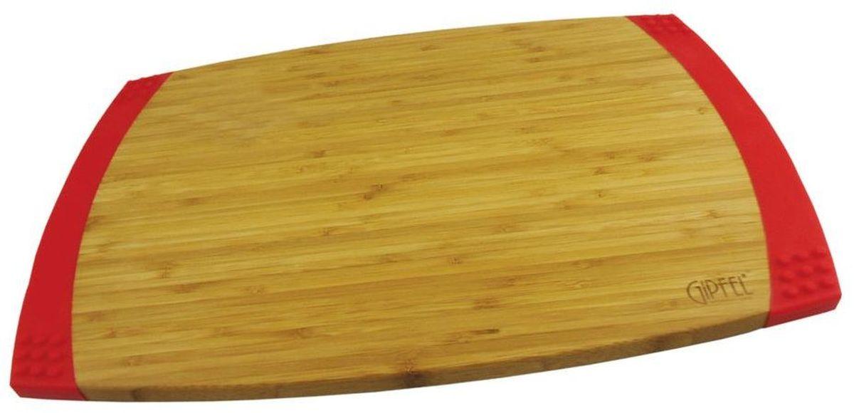 Доска разделочная Gipfel Bamboo, 45,7 х 30,5 х 2,1 см3118Посуда Gipfel изготовлена только из качественных, экологически чистых материалов. Также уделяется особое внимание дизайну продукции, способному удовлетворять вкусы даже самых взыскательных покупателей. Сталь 8/10, из которой изготавливается посуда и аксессуары Gipfel, является уникальной. Она отличается высокими эксплуатационными характеристиками и крайне устойчива к физическим воздействиям. Сложно найти более подходящий для создания качественной кухонной посуды материал. Отличительной чертой металлической посуды, выполненной из подобной стали, является характерный сероватый оттенок поверхности и особый блеск. Это позволяет приготовить более здоровую пищу.